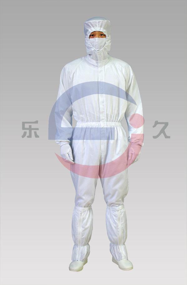 LJ-004 防静电连体洁净服