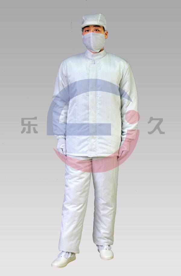 LJ-017 防静电洁净棉服
