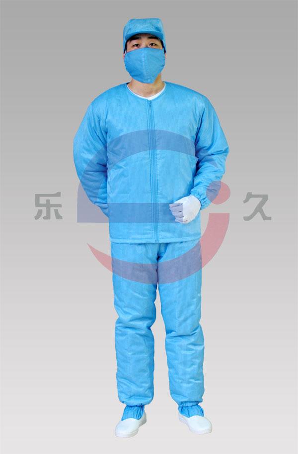 LJ-016 防静电洁净棉服